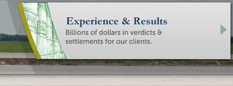 Click here to view recent verdicts and settlements.